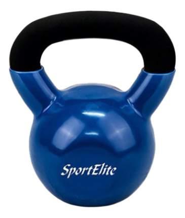 Гиря обрезиненная SportElite 8 кг