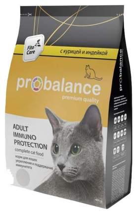 Сухой корм для кошек ProBalance Immuno Protection, для иммунитета, 0,4кг