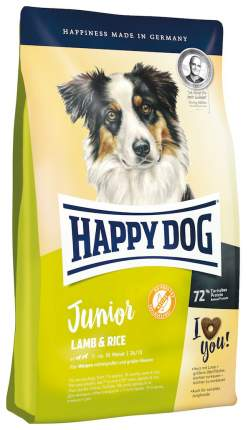 Сухой корм для щенков Happy Dog Junior Lamb & Rice, гипоаллергенный, ягненок и рис, 4кг