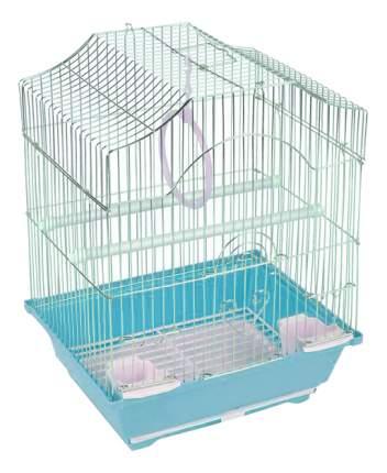 Клетка для птиц Triol 30x23x29 голубой
