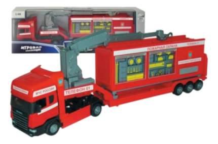 Коллекционная модель Autotime Скания Пожарная охрана 1:48