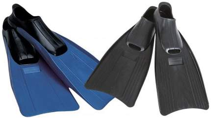 Ласты для плавания Intex 55934, размер 38-40, синие/черные