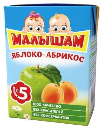 Нектар Малышам Яблочно-абрикосовый с мякотью с 5 мес 200 мл