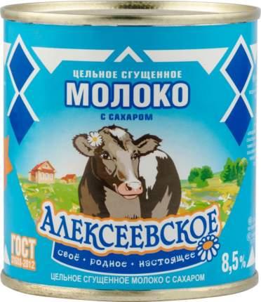 Молоко сгущенное Алексеевское 8.5% с сахаром 380 г