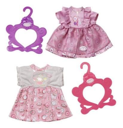 Оежда для куклы Baby Annabell Zapf Creation Платье розовое , 700-839 в ассортименте