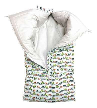 Конверт для новорожденных Маленький водитель Little Kiddy LK-00008_голубой