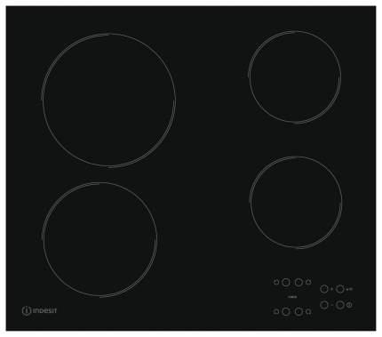 Встраиваемая варочная панель электрическая Indesit RI 161 C Black