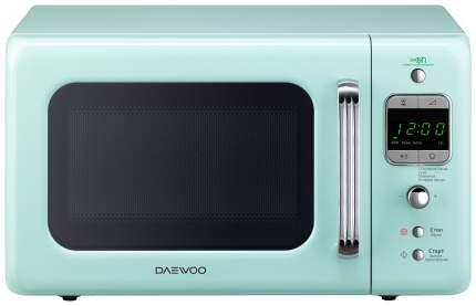 Микроволновая печь соло Daewoo Electronics KOR-6LBRM green