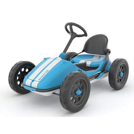 Педальная машинка-картинг Chillafish Monzi-RS синий