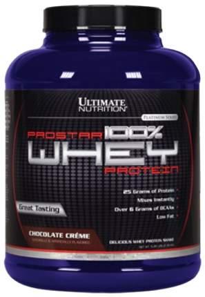 Протеин Ultimate Nutrition Prostar 100% Whey Protein, 2390 г, chocolate creme