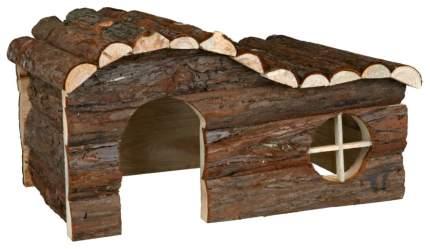 Домик для грызуна TRIXIE дерево, 28х22х43см, цвет коричневый