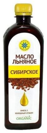 Масло льняное Компас Здоровья сибирское 500 мл