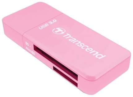 Картридер Transcend RDF5 Розовый