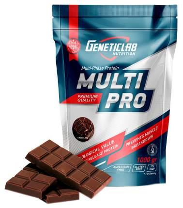 Протеин GeneticLab Nutrition Multi Pro 1000 г Chocolate
