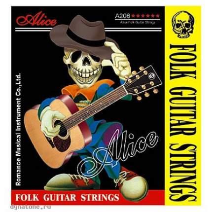 Струны для акустической гитары ALICE A206-SL