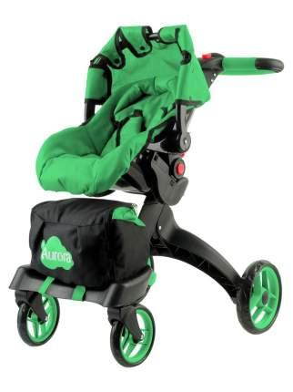 Коляска-трансформер для кукол 12 в 1 Buggy Boom Aurora Зеленая
