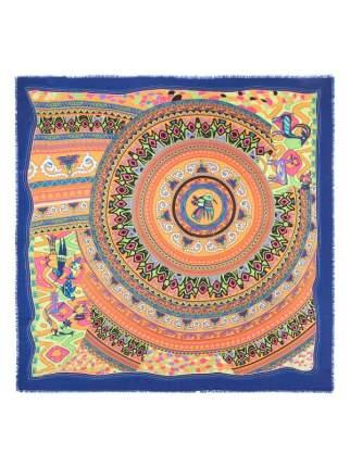 Платок женский Eleganzza GU42-0777 оранжевый/синий