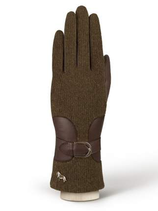 Перчатки женские Labbra LB-4108 коричневые 7