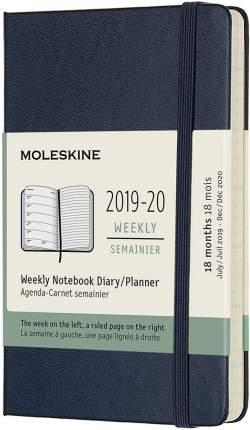 """Еженедельник датированный на 18 месяцев """"Academic WKNT"""" Pocket, 208 страниц, 9 х 14 см,"""