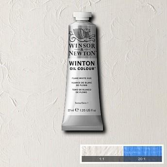 Масляная краска Winsor&Newton Winton белый свинец 37 мл
