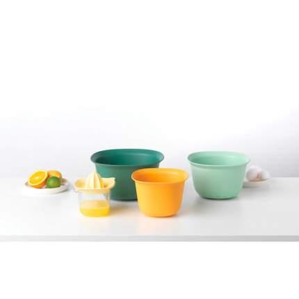 Brabantia Кухонный набор (миски 1,5 л и 3,2 л; мерный стакан / соковыжималка 0,5 л)