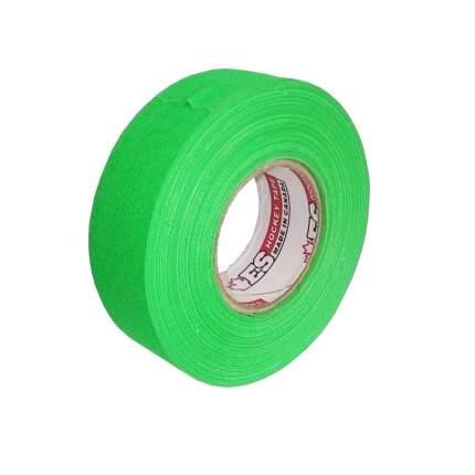 Хоккейная лента ES ES175134 зеленая, 24 мм