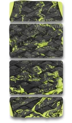 Наклейка на сноуборд Dakine Revamp Stomp, black/citron