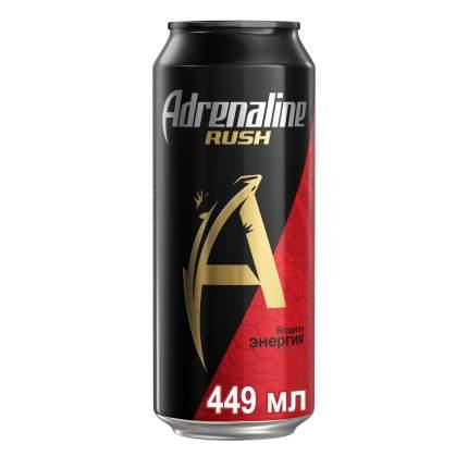 Энергетический напиток ягодная энергия Adrenaline juicy жестяная банка 0.449 л