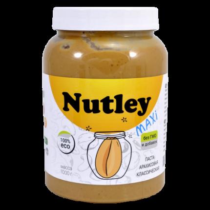 Паста арахисовая Nutley классическая 1 кг