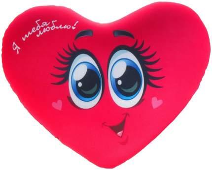 """Подушка-антистресс """"Сердце"""" - Я тебя люблю, с глазками Sima-Land"""