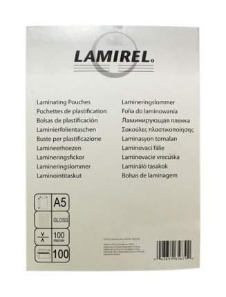 Пленка для ламинирования Lamirel, А5, 100 мкм, 100 штук