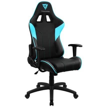 Игровое кресло ThunderX3 EC3 AIR TX3-EC3BC, черный/голубой