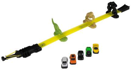 Трек Halsall Toys Int Роковая черта с 5 машинками