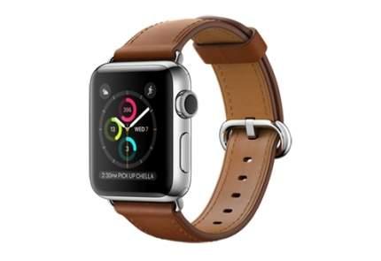 Смарт-часы Apple Watch Series 2 38mm Stainless Steel/Gold/Brown (MNP72RU/A)