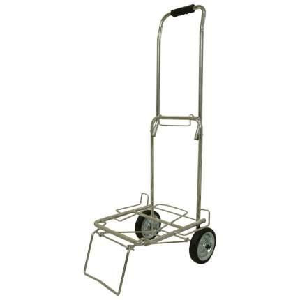 Тележка BMC-12LS хромированная, металлич. колеса (70кг)