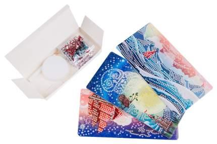 Алмазная мозаика Origami «Алмазные узоры. Триптих. Паруса» 3 картинки 10х20 см