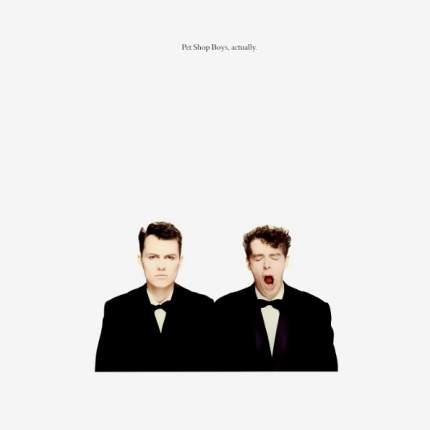 Виниловая пластинка Pet Shop Boys Actually (LP)