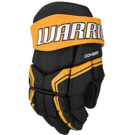 Перчатки хоккейные Warrior QRE3, 13 оранжевые/черные