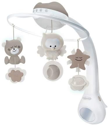 Мобиль-проектор Infantino 3 в 1 музыкальный, серый/бежевый