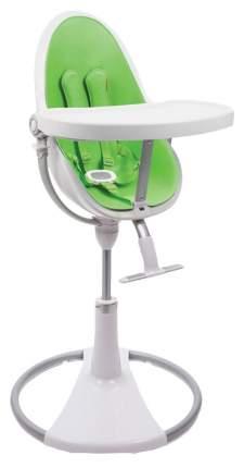 Стульчик для кормления BLOOM Fresco chrome SE серебро, вкладыш зеленый