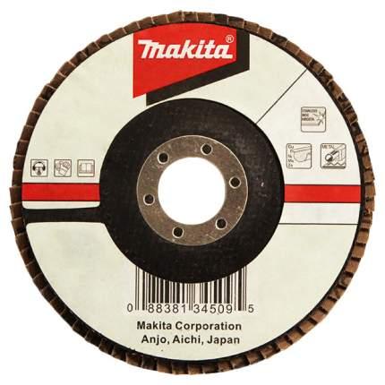 Круг лепестковый шлифовальный для шлифовальных машин Makita D-28569