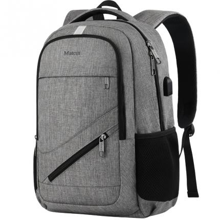 """Рюкзак для ноутбука Matein NTE, 15.6"""", серый"""