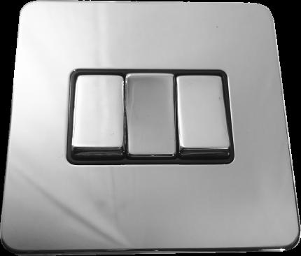 Металлический выключатель BalFour E3032PC