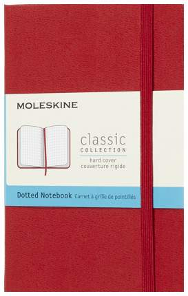"""Блокнот """"Classic"""" Medium, 120 листов, пунктир, 11,5 х 18 см, красный"""