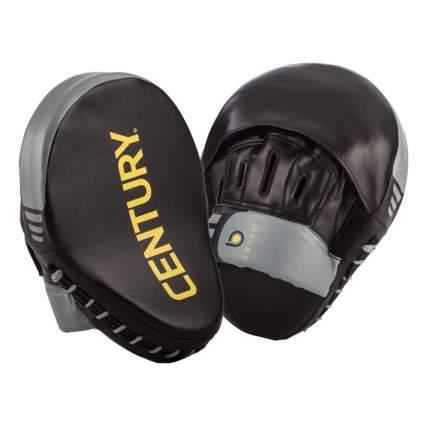 Лапы боксерские Century 2 штуки в комплекте черно-серые