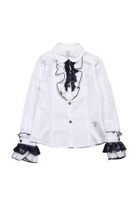 Блузка детская Comusl, цв. белый, р-р 130