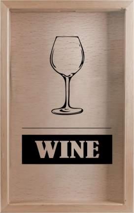 Копилка для винных пробок Wine 29x45 см. Дубравия KD-022-117