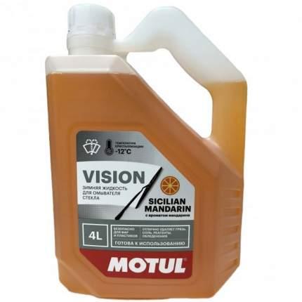 Жидкость омывателя незамерзающая -12C Motul Сицилийский мандарин готовая 4 л 109337