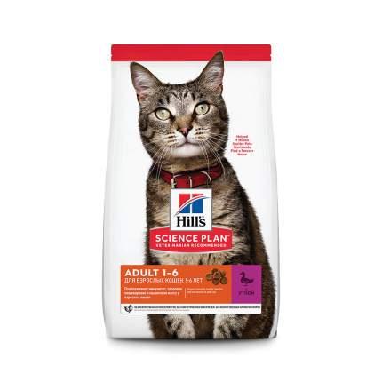 Сухой корм для кошек Hill's Science Plan Adult, утка, 3кг