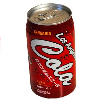Напиток Sangaria Лос-Анджелес кола жестяная банка 0.35 л